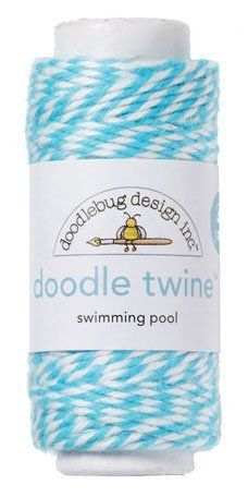 Doodlebug Design - Doodle Twine - Swimming Pool by Doodlebug Design. $2.99. Each spool includes 20 yards of twine.