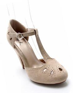 Stella Suede T-straps - $29.99 : Mikarose Fashion, Reinventing Modest Fashion