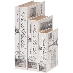 I pinned this 3 Piece Adresse Box Set from the Whittier & Co. event at Joss and Main!