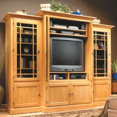 Woodsmith® Home Entertainment Center Plan