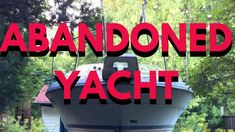 Found an Abandoned Yacht Abandoned, Neon Signs, Social Media, This Or That Questions, Feelings, Left Out, Social Networks
