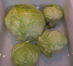 Float cabbages in water to drive out cabbage worms.