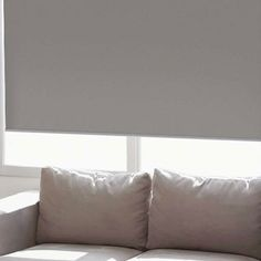 Just found the perfect window treatments!! - Blinds.com. – Economy Room Darkening Roller Shade #homedecor #blinds #roller--solar-shades