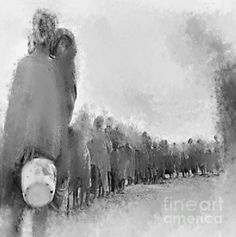 """HOLOCAUST""""  Ruth Clotworthy - Art Site-  http://ruth-clotworthy.artistwebsites.com/  The Holocaust  was the mass murder or genocide of approximately six million Jews during World War II, a programme of systematic state-sponsored murder by Nazi Germany, led by Adolf Hitler and the Nazi Party, throughout German-occupied territory  http://ruth-clotworthy.artistwebsites.com/"""
