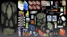 Family Bug Out Bag | DudeIWantThat.com This actually is pretty smart to keep in case you are stranded...