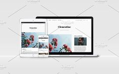 Clementine - WP Blog Theme by PassengerPigeon on @creativemarket