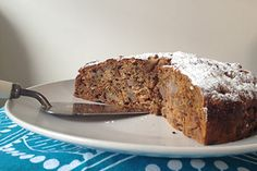 ?replace honey with date paste? Spiced nashi cake
