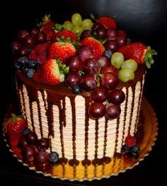 torta, cake drip