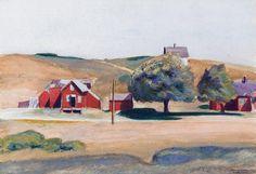 "Edward Hopper  ~  ""South Truro Post Office I"""