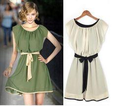Vestido Vintage Laço (cod. 687)