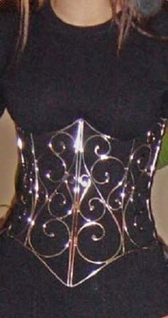 Stainlesss steel wire corset