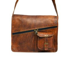 Good looking handmade leather messenger in very cheap prices. One of the best leather bags.