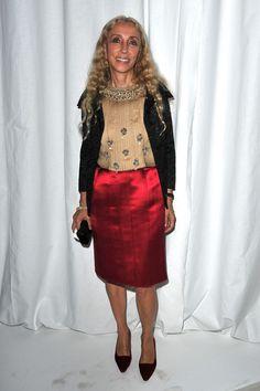 Franca Sozzani Photo - Givenchy: Front Row - Paris Fashion Week Spring / Summer 2012