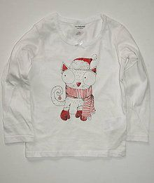 Detské oblečenie - Cica vjanočňja - 7378599_