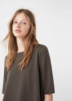 Flowy t-shirt | MANGO
