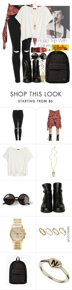 """""""Road trip with Calum"""" by fashionlover809 ❤ liked on Polyvore featuring Topshop, R13, H&M, The Row, Chanel, Michael Kors, ASOS and Porter"""