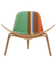 Hans Wegner: Wegner CH07 Shell Chair - Paul Smith Edition - Danish Design Store