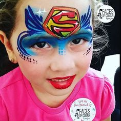 Super girls are truly the best ❤ #facesofcolourbylanajones #facepaint #facepainting #facepainter #bajanfacepainter #paintlife #paintheaven #mua #makeupartist #makeup #artist #art #faceart #artistlife #artislife #superwoman #supergirl #superherofacepaint #heroine #animekon2016 #animekonexpo #sosweet #adorbs #theyaskipaint #thesmileismywhy #barbados