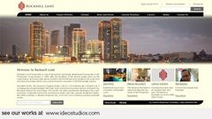 web design by { ideo studios } Client: Rockwell Land Creative Design, Web Design, Holiday Deals, Advertising Agency, Design Development, Digital Media, New York Skyline, Digital Marketing, Studios