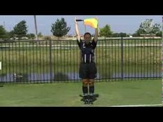 Assistant Referee ~ Signals - YouTube