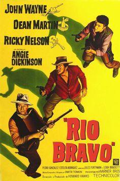 El sheriff Chance (John Wayne) encarcela por asesinato al hermano de un poderoso terrateniente cuyos hombres intentarán liberarlo. Para impedirlo, Chance cuenta con la colaboración de dos ayudantes: un alcohólico (Dean Martin) y un viejo tullido (Walter Brennan), a los que se une un joven y hábil pistolero llamado Colorado (Ricky Nelson).