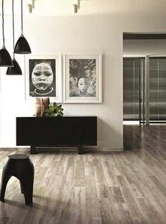 Cerim Paint Light Grey Wood Effect Floor Tiles