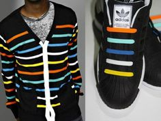 With U-Lace you can make your kicks match any piece of clothing you have in your closet. Get a pack and start creating!