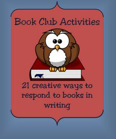 Classroom Freebies Too: Book Club Pages for Reading Workshop