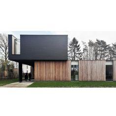 #house #woning #belgiumarchitecture #wood #leien
