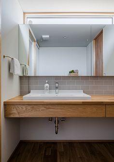 Comfort Room, Washbasin Design, Bamboo Bathroom, Bathroom Images, Japanese House, Modern Chandelier, Washroom, Home Interior Design, Living Room Designs