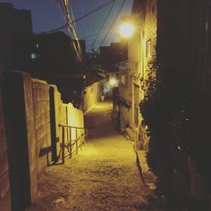 북아현동  골목길