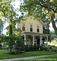 Historic White House in Geneva Illinois