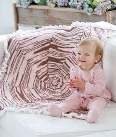 Baby Your Baby Blanket Knitting Pattern | Red Heart