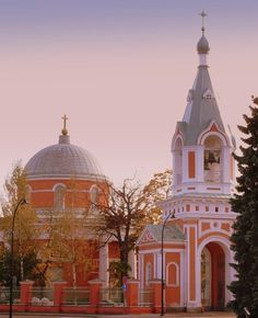 Orthodox Church of Saints Peter and Paul in Hamina, Finland Designed by Louis Visconti, 1837 Throughout The World, Places Around The World, Around The Worlds, Grave Monuments, St Peter And Paul, Finland Travel, Altar, Cathedral Church, Place Of Worship