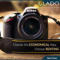 Why buy those expensive ‪#‎Cameras‬ when you can rent them? Visit Here - http://www.clado.in/cameras/camera ☎ +91-81 30 598959, +91-81 30 598979 #camera #rent #india #photography #lovecapture