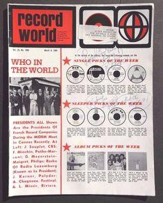 Record World Magazine (3-9-68)
