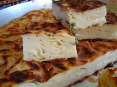 My favorite borek. Su boregi. It's a savory pastry w/feta and parsley and texture is really soft and moist...