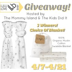 LuLu Love Baby Blanket Giveaway   http://www.imhoviewsreviewsandgiveaways.com