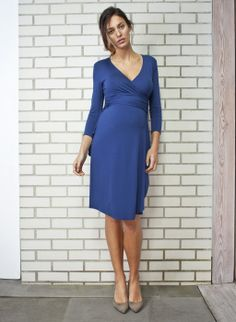 The Wrap Maternity Dress | Isabella Oliver | Maternity Dress