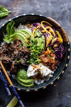 Korean Bulgogi BBQ Steak Bowls. | Half Baked Harvest | Bloglovin'
