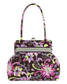 Vera Bradley Alice Shoulder Bag in Purple Punch