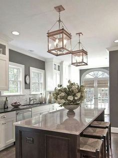 8 best paint colors for your kitchen from Quiet Home Paints - non-toxic, organic, beautiful.