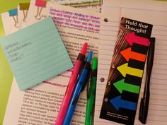 This is practically like what Mrs. Black had been telling us about. You are just going through taking notes and organizing them and typing them and printing. Then you are reading it over and over again but doing something different each time. Then summarizing the notes into a paragraph. This can be helpful bc it is an easy way to study.
