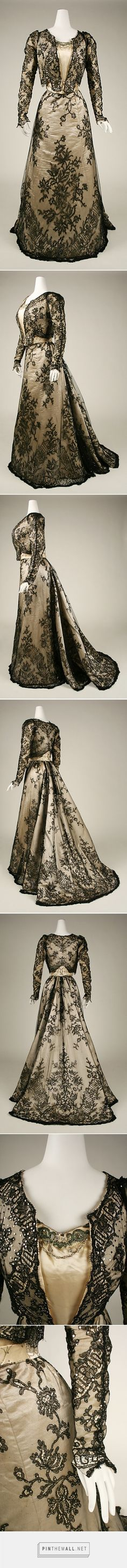 Evening dress 1898-99 American | The Metropolitan Museum of Art