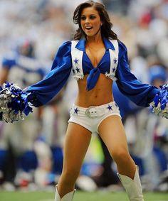 Dallas Cowboys Cheerleader Upskirt Banged