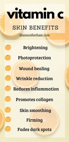 Skin Care Benefits of Vitamin C. Everything you want to know about including a v. Skin Care Benefits of Vitamin C. Everything you want to know about including a vitamin C skincare product in your ro Skin Care Regimen, Skin Care Tips, Skin Tips, Skin Secrets, Organic Skin Care, Natural Skin Care, Natural Beauty, Natural Facial, Natural Makeup