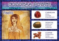 Goddess Power: Vesta!