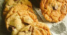 上から順に混ぜるだけの簡単アメリカンクッキーです!外ザックザクで中チューイー甘~(*´ω`*)