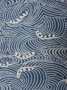 wave pattern fabric This is really an iPhone wallpaper. but it would be cool if u cut circles from felt then glue them in this pattern iP. Japanese Textiles, Japanese Patterns, Japanese Fabric, Japanese Prints, Japanese Design, Japanese Waves, Wave Pattern, Surface Pattern, Pattern Art