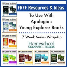 FREE Resources and Ideas To Use With Apologia's Young Explorer Books ~ 7 Week Series Wrap-Up!